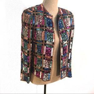 Gorgeous vintage sequin jacket